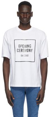 Opening Ceremony White Box Logo T-Shirt