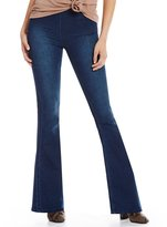 Free People Gummy Flare Leg Pull-On Jeans