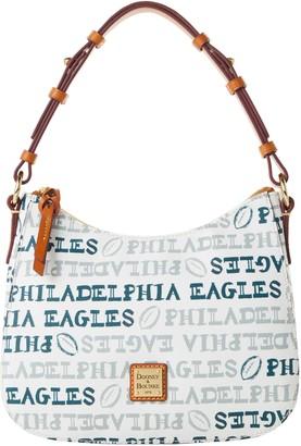 Dooney & Bourke NFL Eagles Small Kiley Hobo