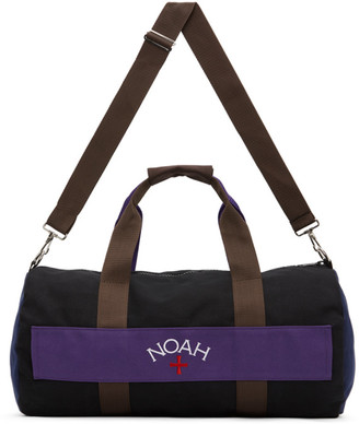 Noah NYC Multicolor Colorblocked Duffle Bag