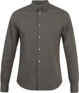 Paul Smith Printed single-cuff cotton shirt