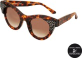 Thierry Lasry Exclusive Nymphomany sunglasses with Swarovski crystals
