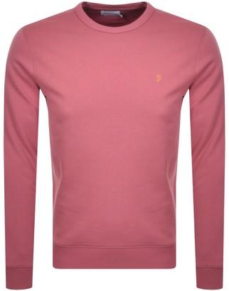 Farah Tim Sweatshirt Pink