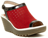 Fly London Yile Perforated Slingback Wedge
