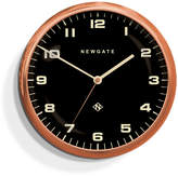 Newgate Chrysler Wall Clock Black - Radial Copper