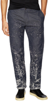 Diesel Black Gold Bruno Printed Flat Front Trousers