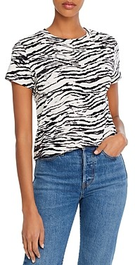 Pam & Gela Move Fast by Tiger Print Tee