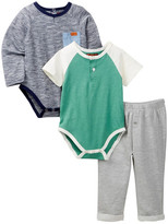 7 For All Mankind 3-Piece Pant Set (Baby Boys 12-24M)