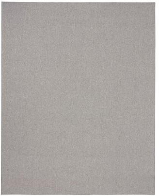 Pottery Barn Casselbarry Custom Diamond Texture Wool Rug - Gray