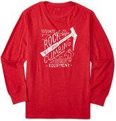 Ralph Lauren Little Boys' Graphic-Print Long-Sleeve Shirt