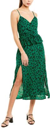 SUBOO Leopard Light Midi Dress