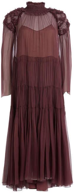 Chloé Silk Chiffon Dress