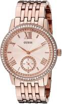 GUESS GUESS? Women's U0573L3 Classic Watch with Genuine Crystals