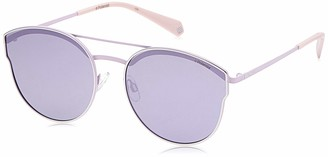 Polaroid Women's Pld 4057/s 2006453YG60MF ado Oval Sunglasses 60 mm