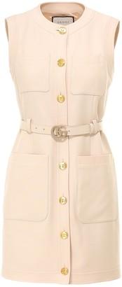 Gucci GG Belted Mini Dress
