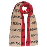 Armani Jeans Tri Logo Scarf
