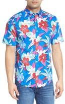 Vineyard Vines Men's Beach Floral Murray Classic Fit Sport Shirt