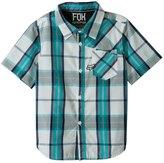Fox Boys' Denton Short Sleeve Woven Shirt (820) - 7534773