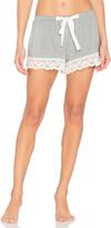Flora Nikrooz Snuggle Knit Lace Shorts