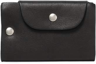 Ann Demeulemeester Textured-leather Cardholder