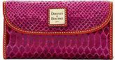 Dooney & Bourke Snake Continental Clutch