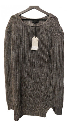 Lost & Found Ria Dunn Grey Linen Knitwear & Sweatshirts