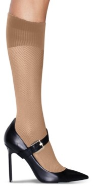Hanes Women's Perfect Socks Geo Compression Knee Socks