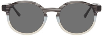 Thierry Lasry Black and Grey Silently Sunglasses