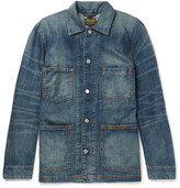 Jean Shop Thurman Slim-Fit Washed-Denim Chore Jacket