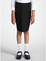 John Lewis Girls' Pencil School Skirt, Black