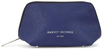 Harvey Nichols Small Navy Cosmetics Case