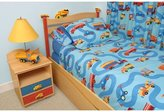 Room Magic Twin Duvet Cover/Bedskirt/Sham Set, Boys Like Trucks