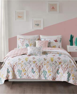 Urban Habitat Kids Desert Bloom 5-Pc. Full/Queen Cotton Coverlet Set Bedding