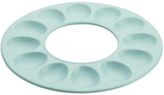 Rachael Ray Ceramics 12-Cup Round Egg Tray