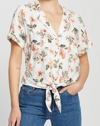 Hollister Tie Front Shirt