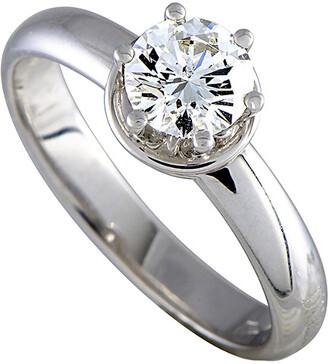 Damiani 18K 0.75 Ct. Tw. Diamond Ring