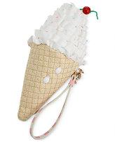 Betsey Johnson Kiss Me Till Ice Cream Wristlet