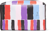 Emilio Pucci Small printed leather cosmetic case