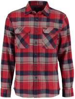 Brixton Bowery Shirt Red/heather Grey/navy