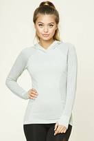 Forever 21 FOREVER 21+ Active Seamless Hoodie Top