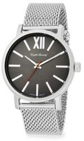 English Laundry Stainless Steel Mesh Watch