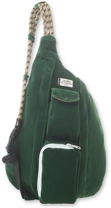 Kavu Women's Backpacks Park - Park Green Rope Cord Mini Sling Backpack