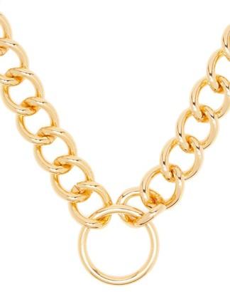 Frame Chain Hooker Gold-plated Choker - Gold
