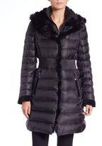 Dawn Levy Tallula Fox Fur Puffer Coat