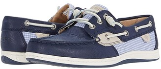 Sperry Songfish Mini Check (Navy) Women's Shoes