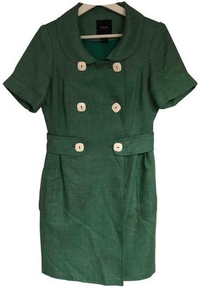 Smythe Green Linen Jacket for Women