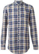 Salvatore Piccolo plaid button down shirt