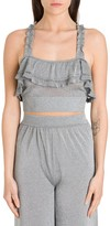 M Missoni Lurex Top With Flounce