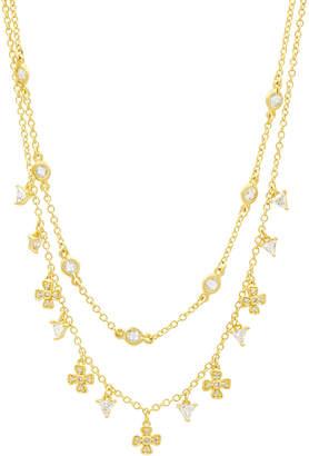 Freida Rothman Harmony Double-Strand Short Necklace