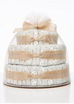 The Honest Company Infant Large Diaper Cake & Full-Size Essentials Set
